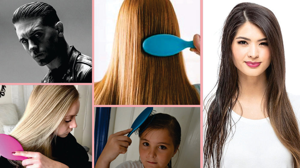 Ultra soft brush for all hairs