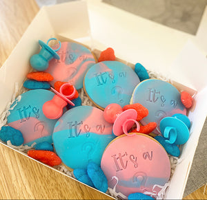 "EXPRESS Gender Reveal ""It's a?"" Cookie Pack"