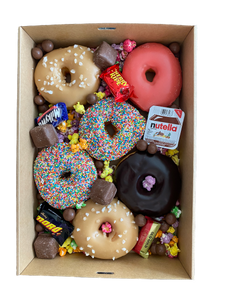 Birthday Donut Box
