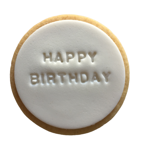 Happy Birthday Quote Cookie