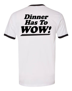 Man the Kitchen Ringer Tee