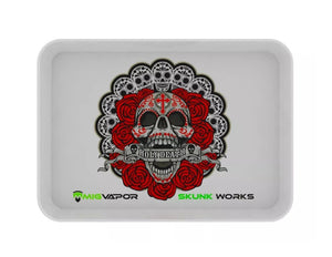 "MIG VAPOR SKUNK WORKS ""HOLY DEATH"" ROLLING TRAY WHITE"