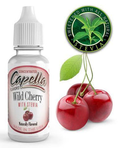 CAPELLA - WILD CHERRY WITH STEVIA CONCENTRATE