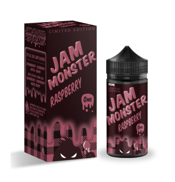 JAM MONSTER - RASPBERRY 100ML