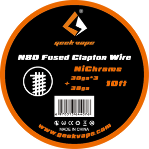 GEEKVAPE N80 FUSED CLAPTON WIRE 10FT