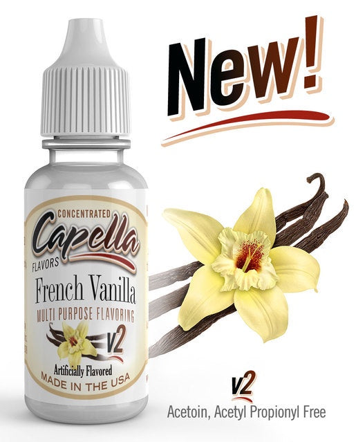 CAPELLA - FRENCH VANILLA V2 CONCENTRATE