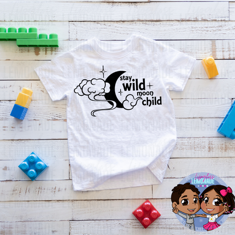 WILD MOON CHILD • KIDS TShirt