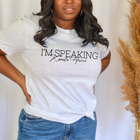 """I'm Speaking"", KH • TSHIRT"