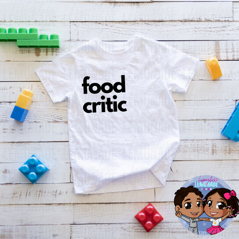 FOOD CRITIC • KIDS TShirt