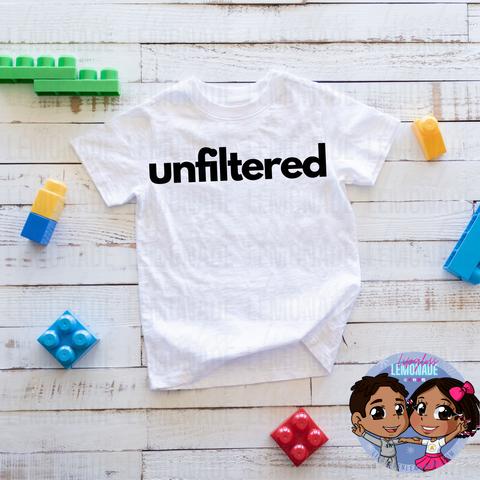 UNFILTERED • KIDS TShirt