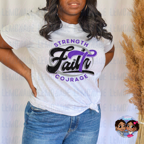 FAITH, LUPUS • AWARENESS TSHIRT
