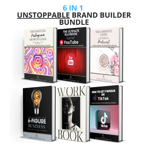 6 in1 Unstoppable Brand Building Bundle | Colab Collective | Co Co Agency