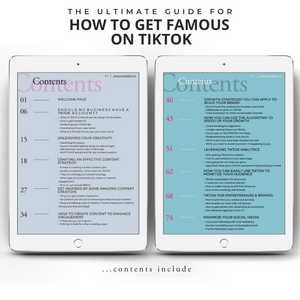 How To Get Famous on TikTok | Colab Collective | Contents Page