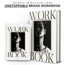 Load image into Gallery viewer, Secrets To Building An Unstoppable Brand- Workbook