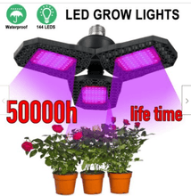 Load image into Gallery viewer, 108 LED Grow Light Panel Lamp Full Spectrum Hydroponic Veg Plant Growth Indoor (5931362484380)