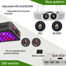 Load image into Gallery viewer, ERICDU 1100W LED Grow Light Full Spectrum (5825565294748)
