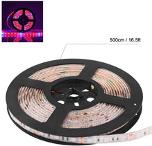 Load image into Gallery viewer, Plant Grow Light Strip AveyLum 5050 SMD LED Plant Strip Lights Indoor Growing Lamp 16.4ft Waterproof Flexible Soft Rope Light with 12V Adapter for Greenhouse Hydroponics Flower Seeds(Red Blue 4:1) (6031933702300)