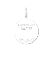 LOLA Sterling Silver Sea Turtle Charm 19mm