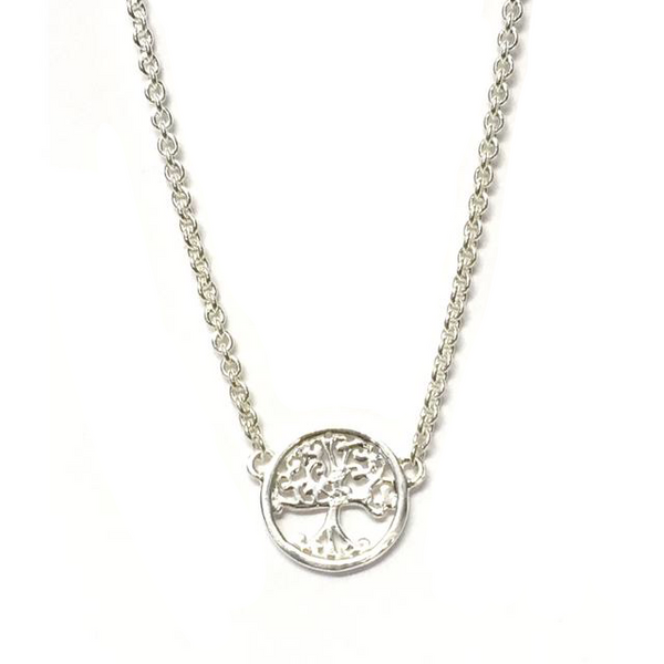 Sterling Silver Adjustable Tree of Life Pendant