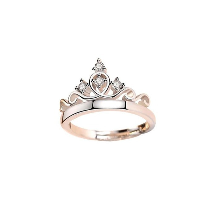 Ladies Crown Ring