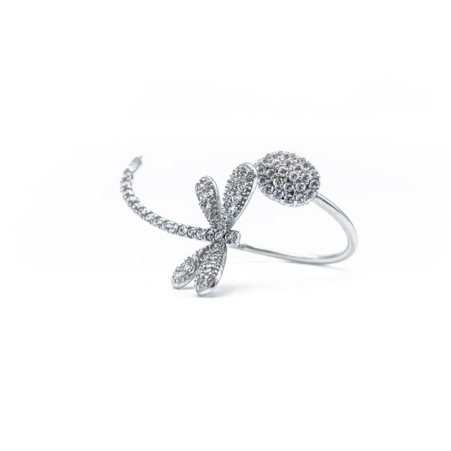 Butterfly Adjustable Ring
