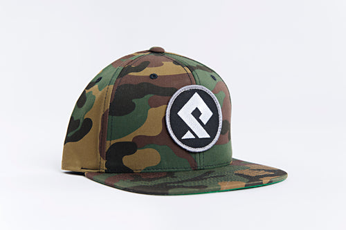 PULLSPORT PATCH HAT - CAMO Wakeboard Waterski Watersport Apparel