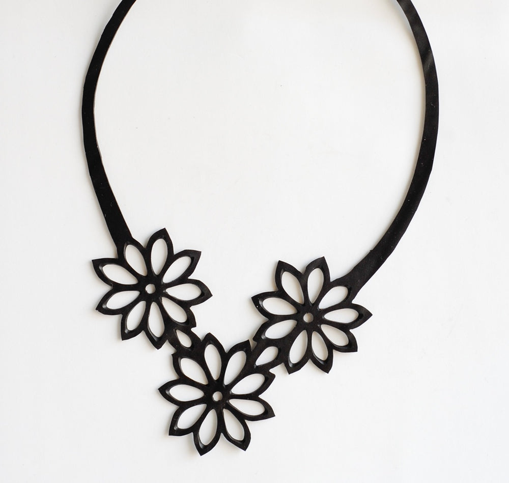 Tyre Tube Necklace