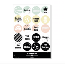 Afbeelding in Gallery-weergave laden, Stickervel -set van 4 thema's-
