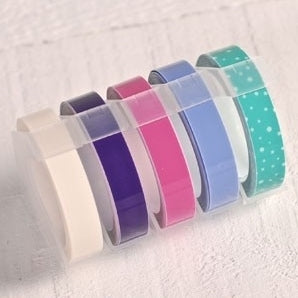 Tape - pastel - voor labelmaker / lettertang