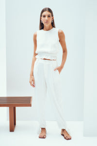 Bardot Pants Off White
