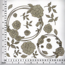 Load image into Gallery viewer, CB4070 String Circles 06 Roses