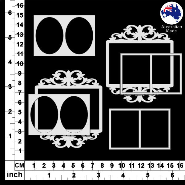 CB5095 Ornate Frames 16