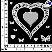 Load image into Gallery viewer, CB5112 Hanging Hearts 01