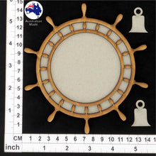 Load image into Gallery viewer, CB5167 Ship's Wheel Tray 08