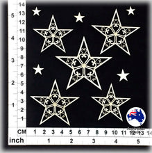 Load image into Gallery viewer, CB6081 Christmas Stars 02