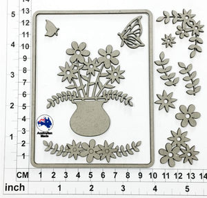 CB6119 Card Elements 001 - Floral