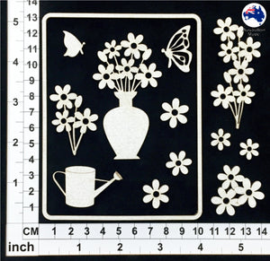 CB6120 Card Elements 002 - Floral