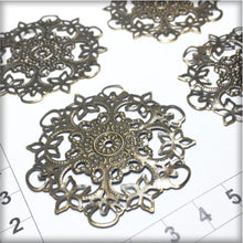 Load image into Gallery viewer, CH010 Filigree Flower #5