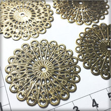 Load image into Gallery viewer, CH014 Filigree Flower #7