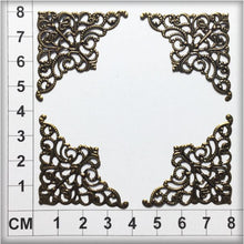 Load image into Gallery viewer, CH017 Filigree Corners #2