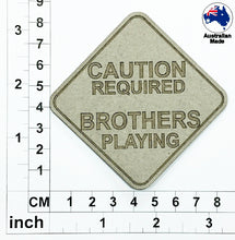 Load image into Gallery viewer, CT039 Caution Required Brothers Playing
