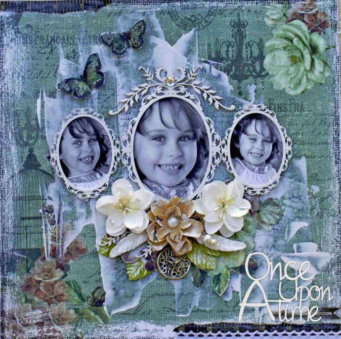 Once Upon a Time Layout (Kit #10)