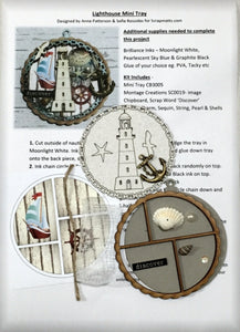 Lighthouse Mini Tray (Kit #14)