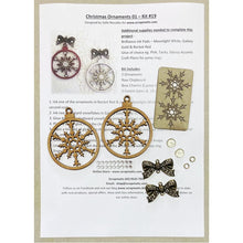 Load image into Gallery viewer, Christmas Ornaments 01 (Kit #19)