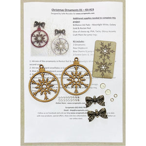 Christmas Ornaments 01 (Kit #19)