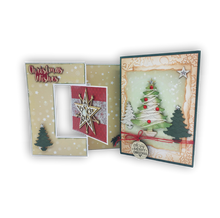 Load image into Gallery viewer, 2 Christmas Cards 01 (Kit #55)