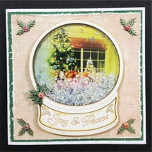Load image into Gallery viewer, Snow Globe Card 01 (Kit #75)