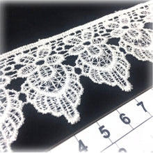 Load image into Gallery viewer, LL015 47mm White Polyester Cotton Lace per metre