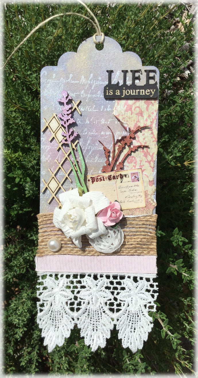 Life is a Journey Tag (Kit #12)