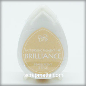 Pearlescent Beige Brilliance Dew Drop Ink